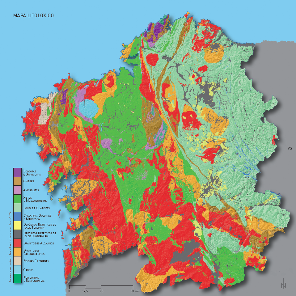Mapa Litolóxico