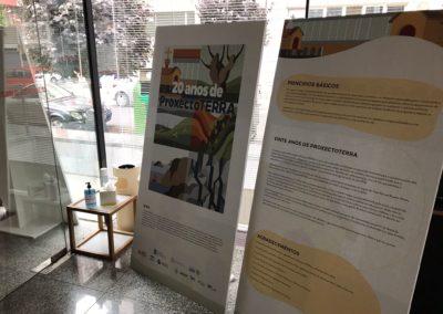 Entrada á exposición na Delegación do COAG en Lugo
